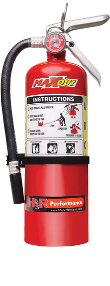 H3R Performance MX500R Dry Chemical Fire Extinguisher