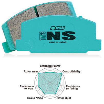 Project Mu PSF261 Street Type NS Front Pads
