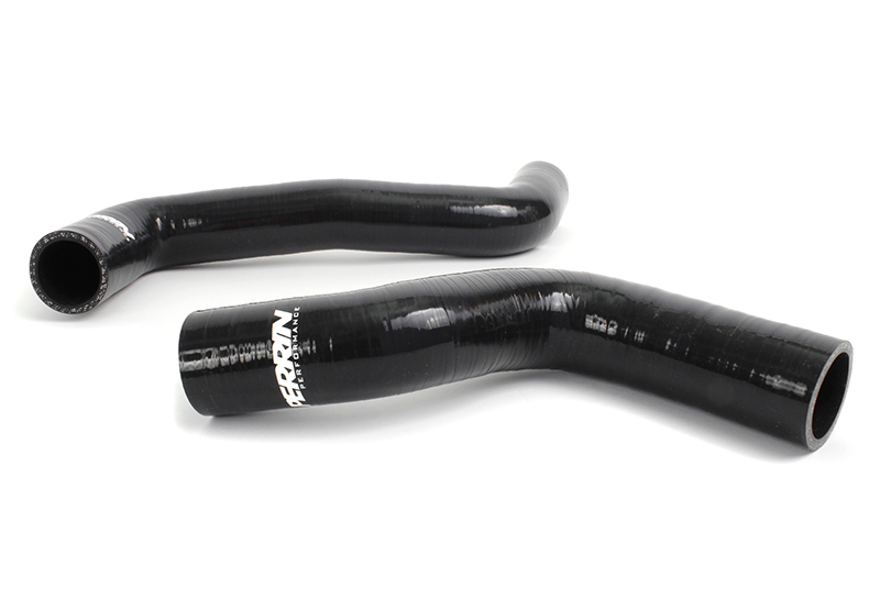 Perrin PSP-ENG-518BK Radiator Hose Set Black for 15-16 WRX-2pcs