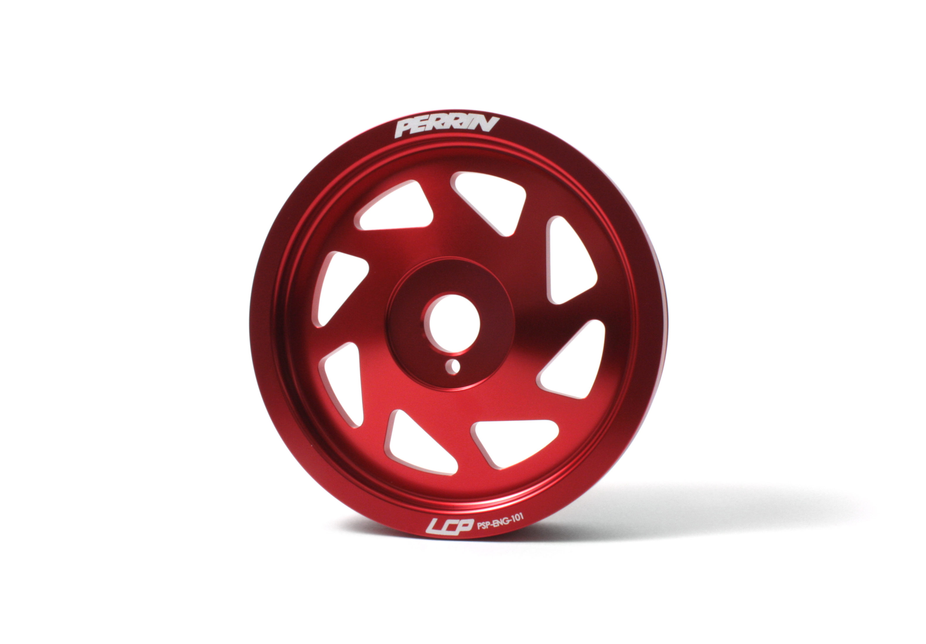 Perrin Crank Pulley for 2012+ Impreza and 2013 BRZ Red