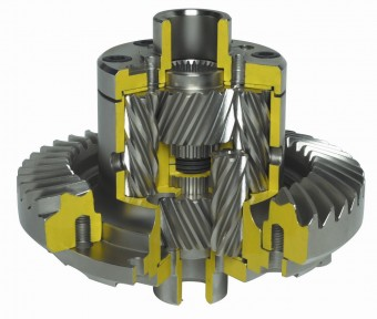 Quaife QDF14J ATB Helical LSD Differential for Volvo S60R