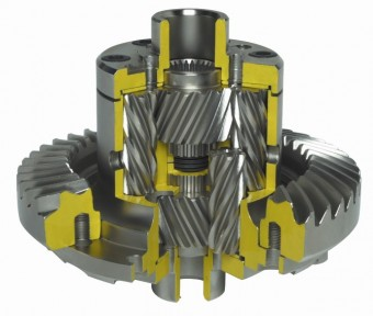 Quaife QDF25K ATB Helical LSD Differential for Land Rover 110