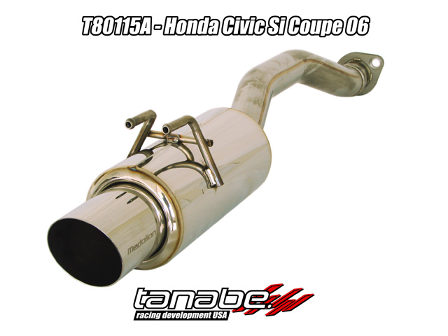 Tanabe Concept G Cat Back Exhaust for 06-11 Honda Civic Coupe Si