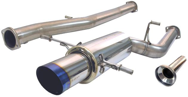 Tanabe G Blue Turbo Back Exhaust for 90-99 Mitsubishi 3000GT