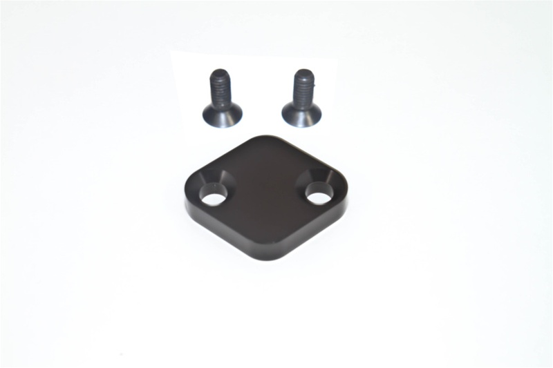 Torque Solution TS-EGR-005 Billet EGR Delete Kit - Black No Logo