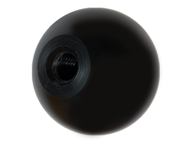 Torque Solution UNI-107A Acetal Homopolymr 50MM Round Shift Knob