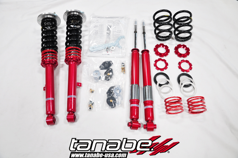 Tanabe Sustec Pro S-0C Coilover Kit for 92-96 Honda Prelud BB1/4