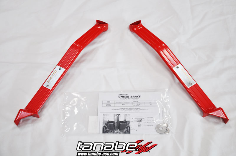 Tanabe Under Brace Chasis for 03-05 Mitsu Lancer EVO8 CT9A- Rear