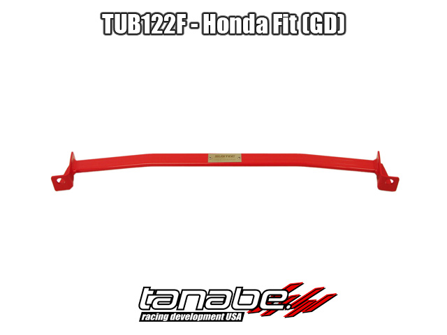 Tanabe Under Brace Chasis for 07-08 Honda Fit - Front