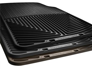 Weathertech W67TN Front Rubber Mats for 98 - 01 Audi A4 Avant