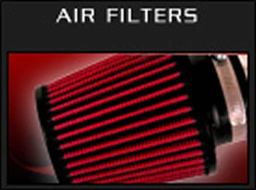 Injen High Performance Air Filter - 3 1/2 Black Filter 6 Base