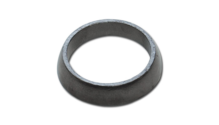 "Vibrant Graphite Exhaust Donut Gasket - 2.53"" ID x 0.55"" tall"