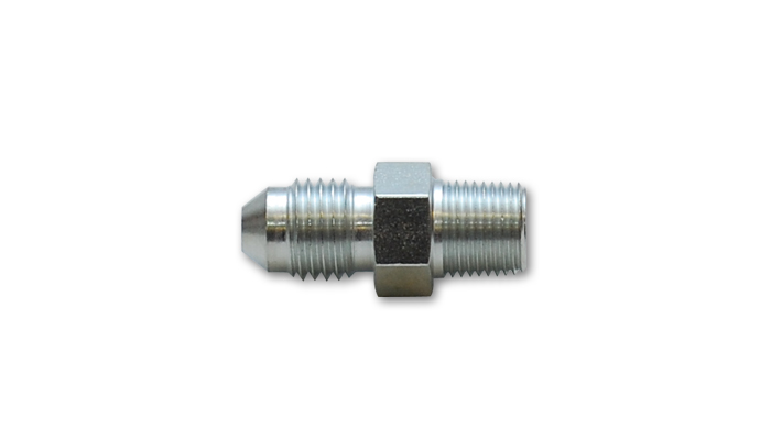 "Vibrant -4AN to 1/8"" NPT straight adapter fitting - Steel"