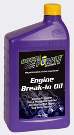 Royal Purple Break-In Oil - 12 Quart Case