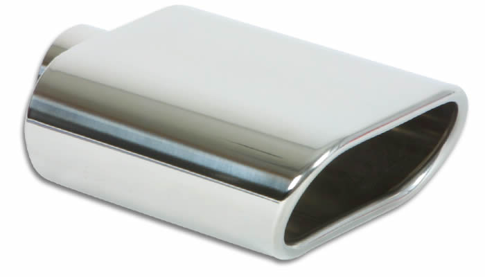 "Vibrant 5.5"" x 3"" Oval Stainless Steel Exhaust Tip"