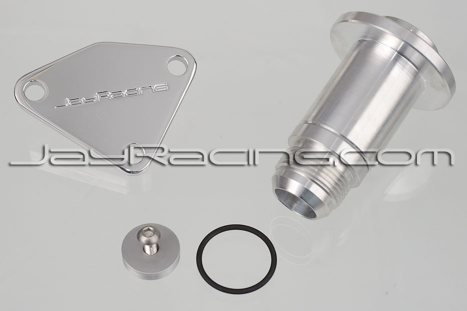 Jay Racing Front Water Outlet Kit -AN Male Fitting (Long)