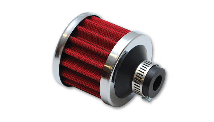 "Vibrant Crankcase Breather Filter (1"" inlet I.D.)"