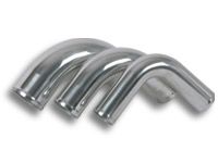 "Vibrant 2.5"" O.D. Aluminum 90 Degree Bend – Polished"