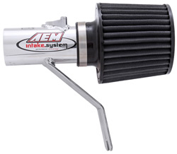 AEM Mazda 6S V6 A/T Only Polished Short Ram Intake 2003-2006