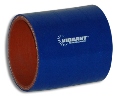 "Vibrant 4 Ply Hose Coupling - 4.5"" I.D. x 3"" long (BLUE)"