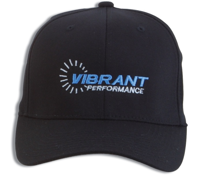 Vibrant Performance Fitted Baseball Cap - Large / X Large