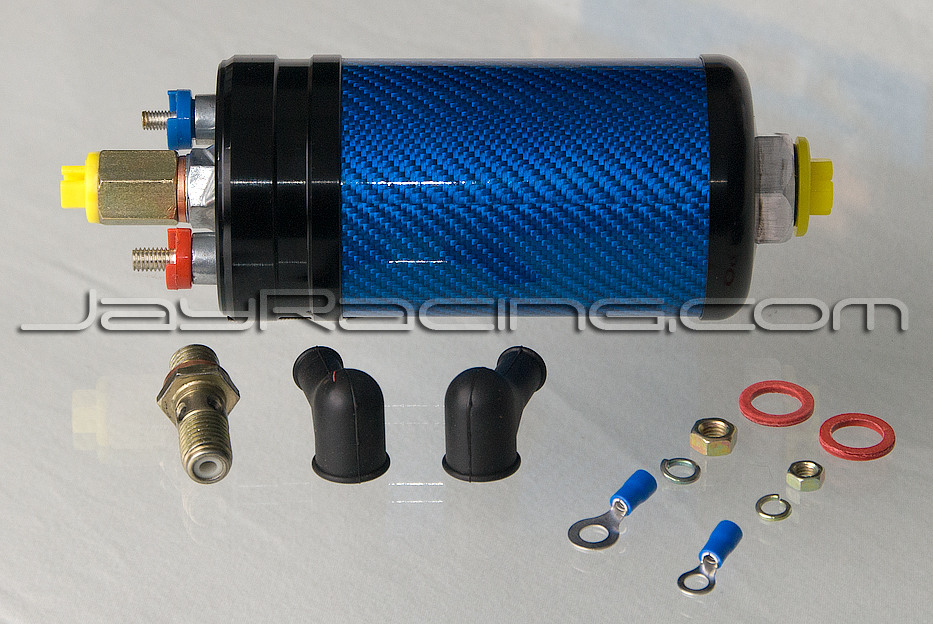 Jay Racing Pro Series Carbon 044 Fuel Pump Blue/Black