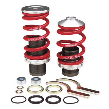 Coilover Sleeve Kits: 1988-00 CIVIC, CRX, DEL SOL