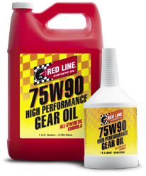 Red Line 75W90 GL-5 Gear Oil (Quart)
