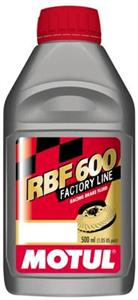 "Motul RBF600 ""Racing DOT4"" Brake Fluid (12) 1/2L Bottles"