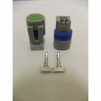 Haltech Plug and Pins Only - Suit Air Temp Sensor - Small Thread