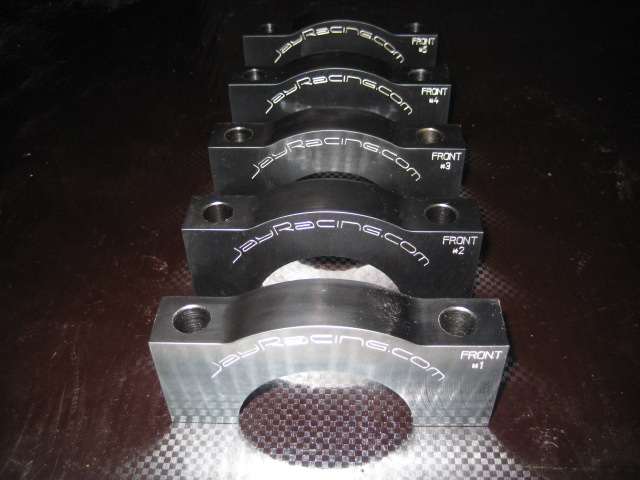 Jay Racing Billet Main Caps for Ford 2.0L Zetec Engine
