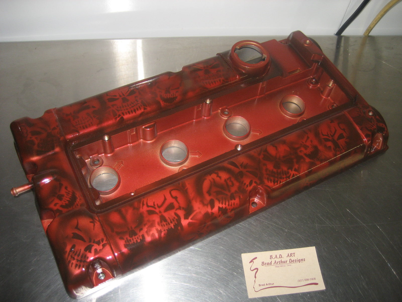 Jay Racing Skulls Valve Cover