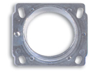 Vibrant Mass Air Flow Sensor Adapter Plate for Nissan