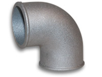 "Vibrant 3"" O.D. Cast Aluminum Elbow (90 degree, Tight Radius)"
